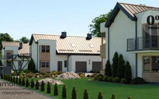 dom bliźniak z garażem w grodzisku mazowieckim